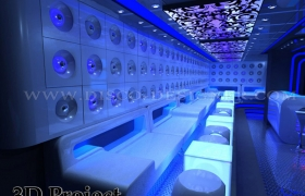3D project nightclub design