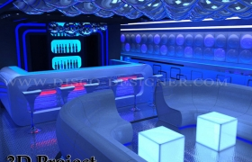 3D project disco club