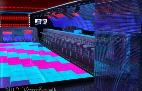Night Club LED Dance Floor