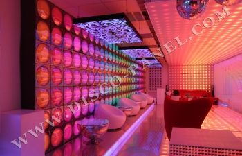 sleek LED disco wall panels