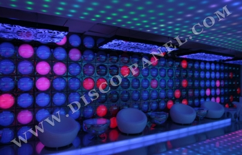 LED disco wall Frankfurt Germany