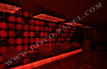 LED bubbles wall
