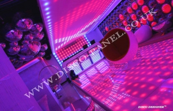 led dance floor and and led ceiling