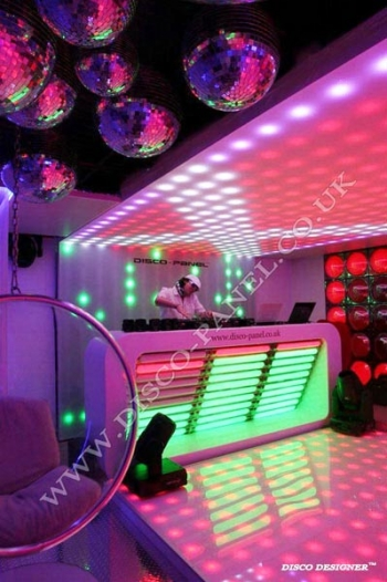 led pixel ceiling panel dj lights