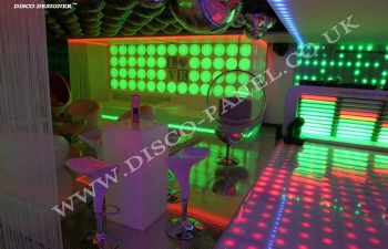 sleek disco design