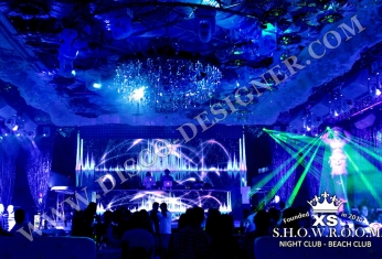 led display nightclub