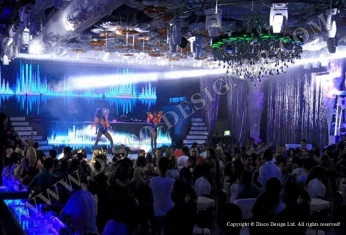 lighting led nightclub