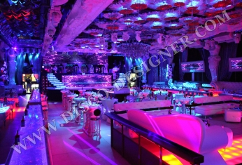 club disco interior