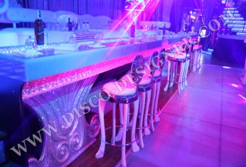 led bar discotheque