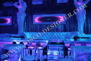 led display baroque frame