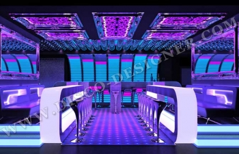 Attractive 3d Nightclub Design