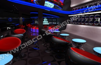 insomnia lounge LED panels