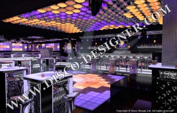 led lights nightclub design