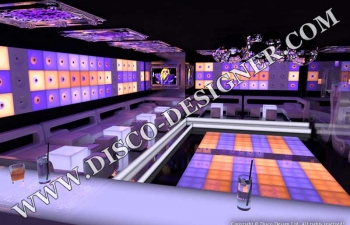 modern disco club design