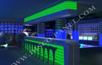 modern nightclub bar