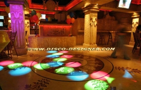 Club Design Project Cyprus 2005 - decoration discotheque