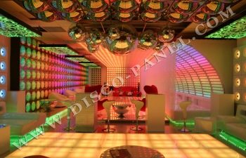 LED ceiling anf LED floor