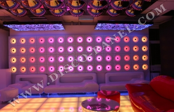 "club LED ""bubble"" panel"