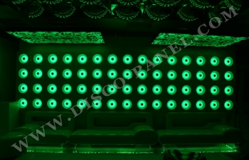 LED disco panels wall