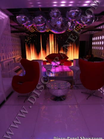 Nightclub lighting effects