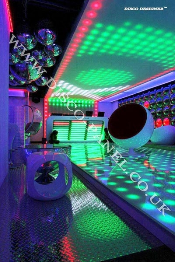 led ceiling and dance floor panel