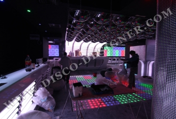 LED disco wall