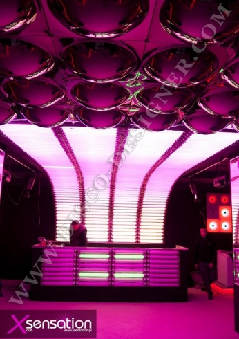 LED DJ booth equalizer