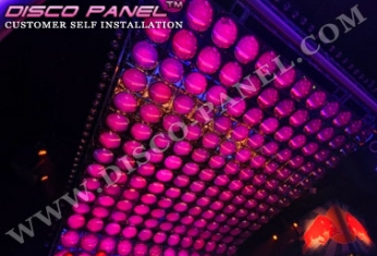 LED nightclub decor