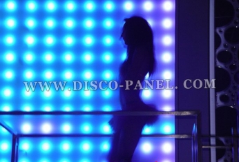 LED nightclub wall