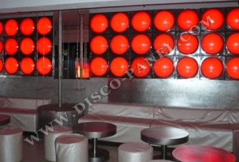 bubble club decor