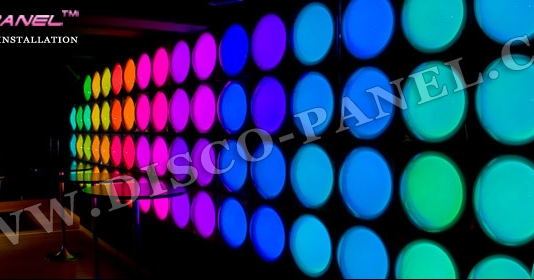 LED bubble panel
