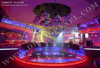 nightclub design LED dancing