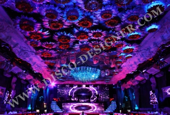 disco ceiling flower led