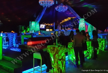 led disco tables