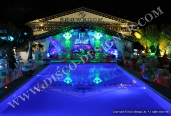 club led swimming pool