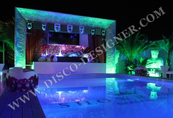 disco led stage