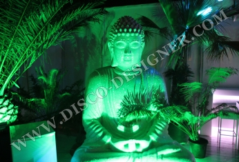 statue budha decor disco
