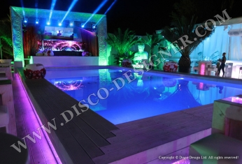 swimming pool nightclub