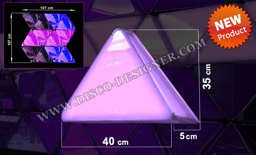 led triangle panel