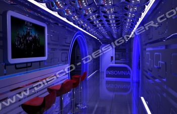 insomnia bubbles entrance decor