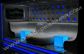 insomnia seating lounge panel LED