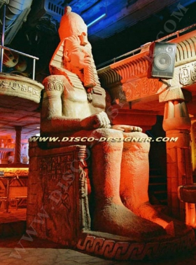 Egypt Statues for Nightclub Decoration
